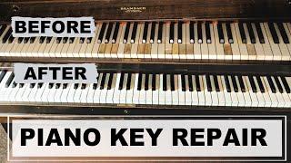 PIANO KEY REPAIR DIY