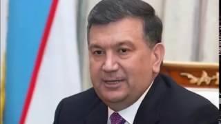 Шавкат Мирзиёев распекает подчиненных