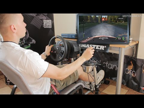 WheelStandPro with Thrustmaster T300RS [F1 2015  & WRC 5]