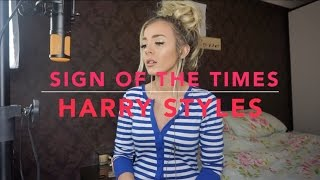 If you missed my cover version of Harry Styles Sign Of The
