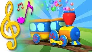 Piosenki po angielsku dla dzieci | Pociąg | Nauka angielskiego dla dzieci