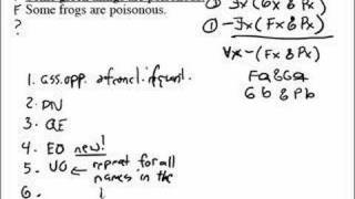 Predicate Logic Trees