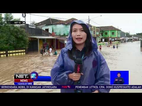 Live Report - Banjir di Pandeglang Semakin Tinggi - NET12