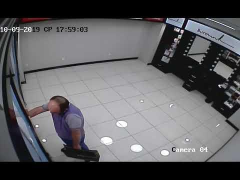 Կողոպուտ օծանելիքի խանութ-սրահից. որոնվում է տեսանյութում պատկերված տղամարդը (Տեսանյութ)