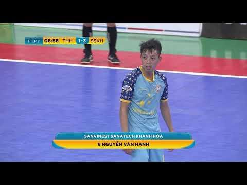 Giải futsal VĐQG 2019: Sanvinest Sanatech Khánh Hòa vs Tân Hiệp Hưng (5-1)