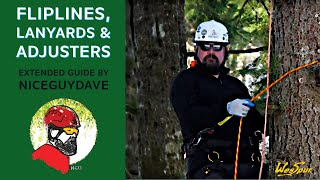 Guide to Fliplines / Lanyards and Adjusters in Tree Climbing