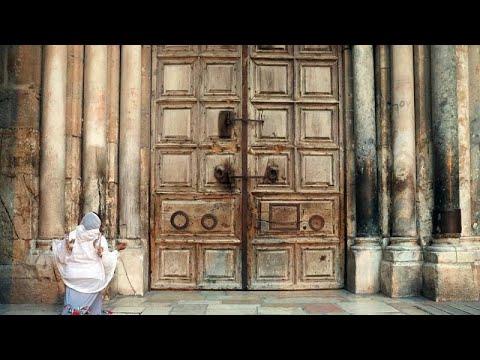 COVID-19: «Λουκέτο» στον Πανάγιο Τάφο έπειτα από 671 χρόνια