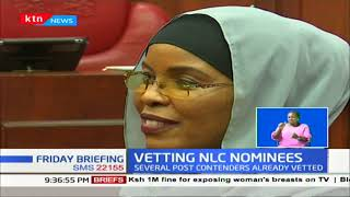 NLC Nominee Lawyer Gershom Otachi grilled by National Assembly Committee on Land