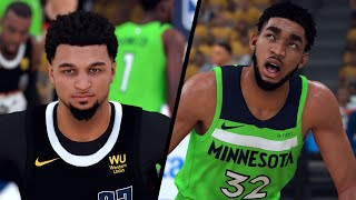 Denver Nuggets vs. Minnesota Timberwolves - 2020 NBA First Round Playoffs! - Full Gameplay