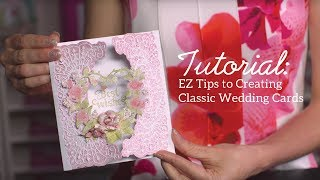 EZ Tips to Create an Elegant Card with Intricate Dies and Stamps