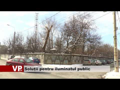 Soluții pentru iluminatul public