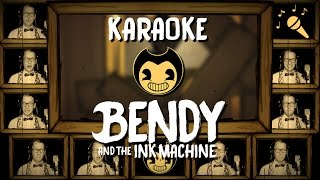 BENDY AND THE INK MACHINE song - KARAOKE w/ Lyrics (Build Our Machine) - Vocal Instrumental