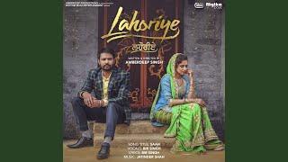 """Saah (From """"Lahoriye"""" Soundtrack)"""