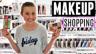 MAKEUP SHOPPING VLOG WITH MY MOM   WHAT TO BUY FOR YOUR FIRST TEEN MAKEUP KIT!