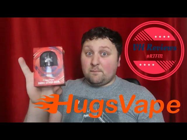 Hugsvape Ring Lord RDA. Vape.....you fools!