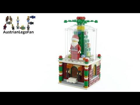 Vidéo LEGO Saisonnier 40223 : Boule à neige LEGO