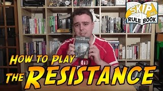Picture of a game: The Resistance (board Game)