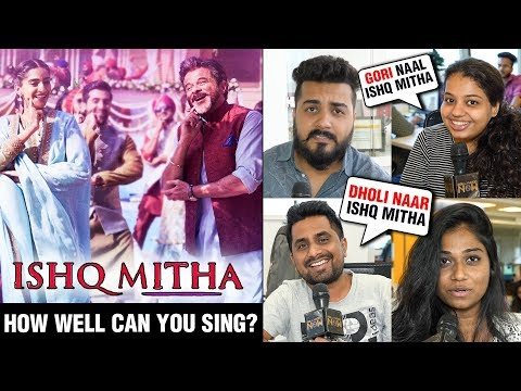 PUBLIC EPIC REACTION To Gud Naal Ishq Mitha Song |