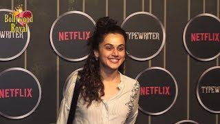 Taapsee Pannu & Others Screening Of Sujoy Ghosh's Web Series 'Typewriter'