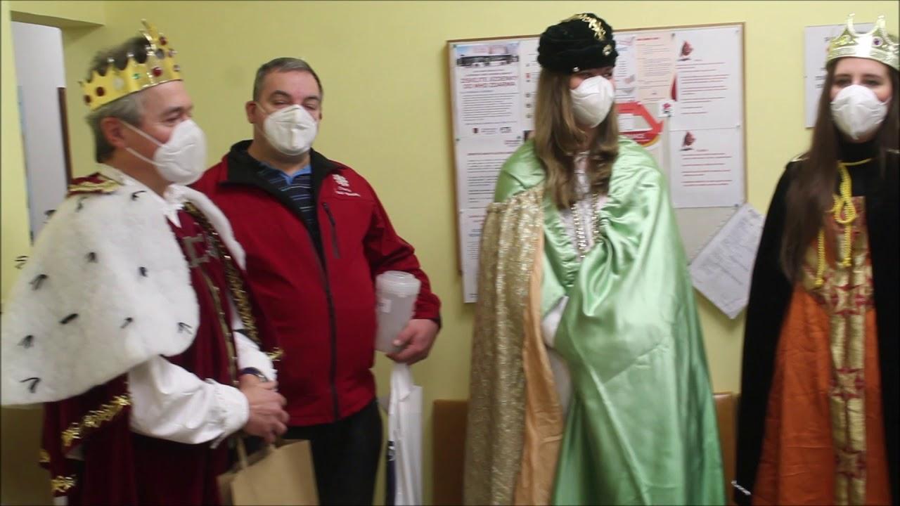 Návštěva tří králů v prostějovské nemocnici
