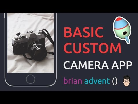 iOS Swift Tutorial: Basic Custom Camera App – AVFoundation