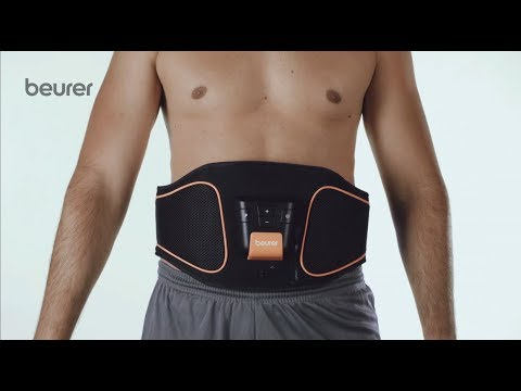 Quick Start Video sul cintura per elettrostimolazione addominale EM37 di Beurer