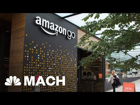 The Future Of Shopping? Amazon Opens First Grocery Store | Mach | NBC News