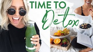 PARASITE CLEANSE   Digestion + Detox   GROCERY HAUL
