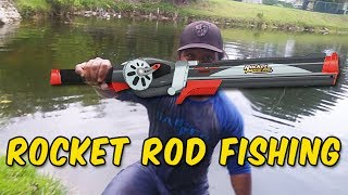Rocket Fishing Rod Catches BIG FISH | Monster Mike