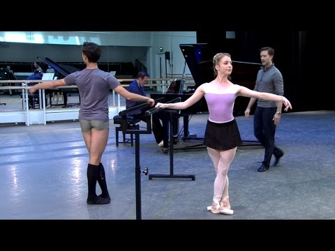 Watch: Learn the steps of The Royal Ballet's daily class