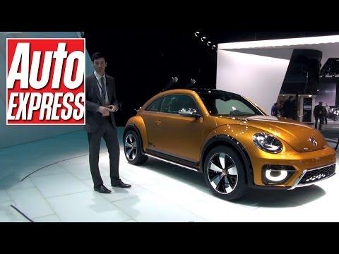 Volkswagen Beetle Dune concept at Detroit 2014 - Auto Express