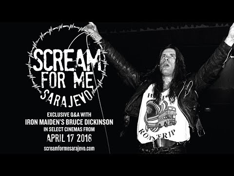 Trailer For Scream For Me Sarajevo