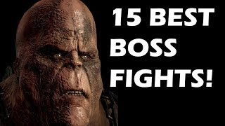Top 15 Boss Fights In The Entire God of War Series
