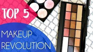 {Top 5} Makeup Revolution - La qualité à petits prix!!