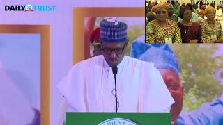 VIDEO: Abiola Investiture: June 12 is not an attempt to open old wound - Buhari