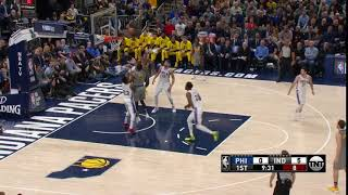 1st Quarter, One Box Video: Indiana Pacers vs. Philadelphia 76ers