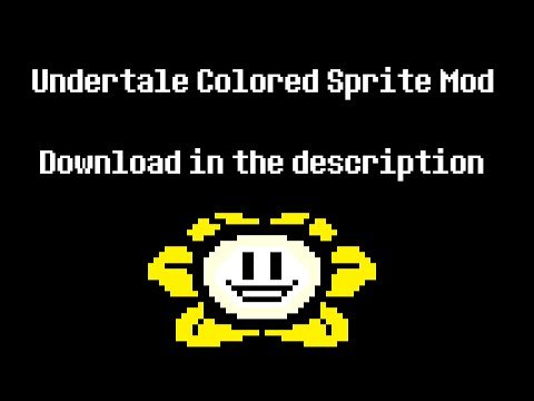 Undertale - Colored Sprite Mod 1.001 Release Trailer (VERSION 3) Mp3