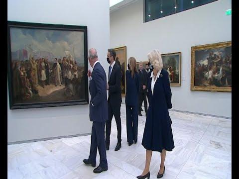 Ξενάγηση των υψηλών προσκεκλημένων στην Εθνική Πινακοθήκη