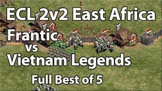 ECL 2v2 Africa | Semi Finals | Frantic vs Vietnam Legends [Full Best of 5]