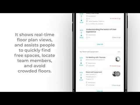 Workplace app voor efficiënt kantoorgebruik in post-Corona tijdperk