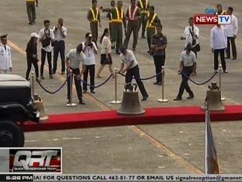 QRT: Pagdating sa Pilipinas ng Balangiga Bells, tinutukan sa telebisyon ng mga taga-Balangiga