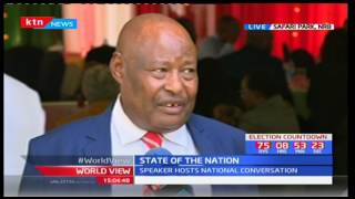 NCIC-Francis Ole Kaparo talking of the importance of the National Conversation Forum