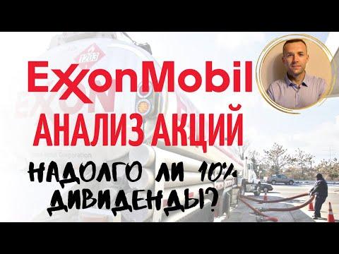 Exxon Mobil акции: дивиденды, прогноз. Стоит ли покупать? (XOM)