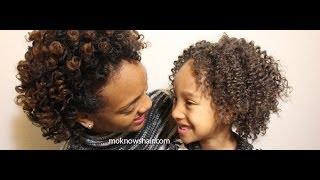 Family Hair Care: Transitioning Bantu Knots & Kid Styles