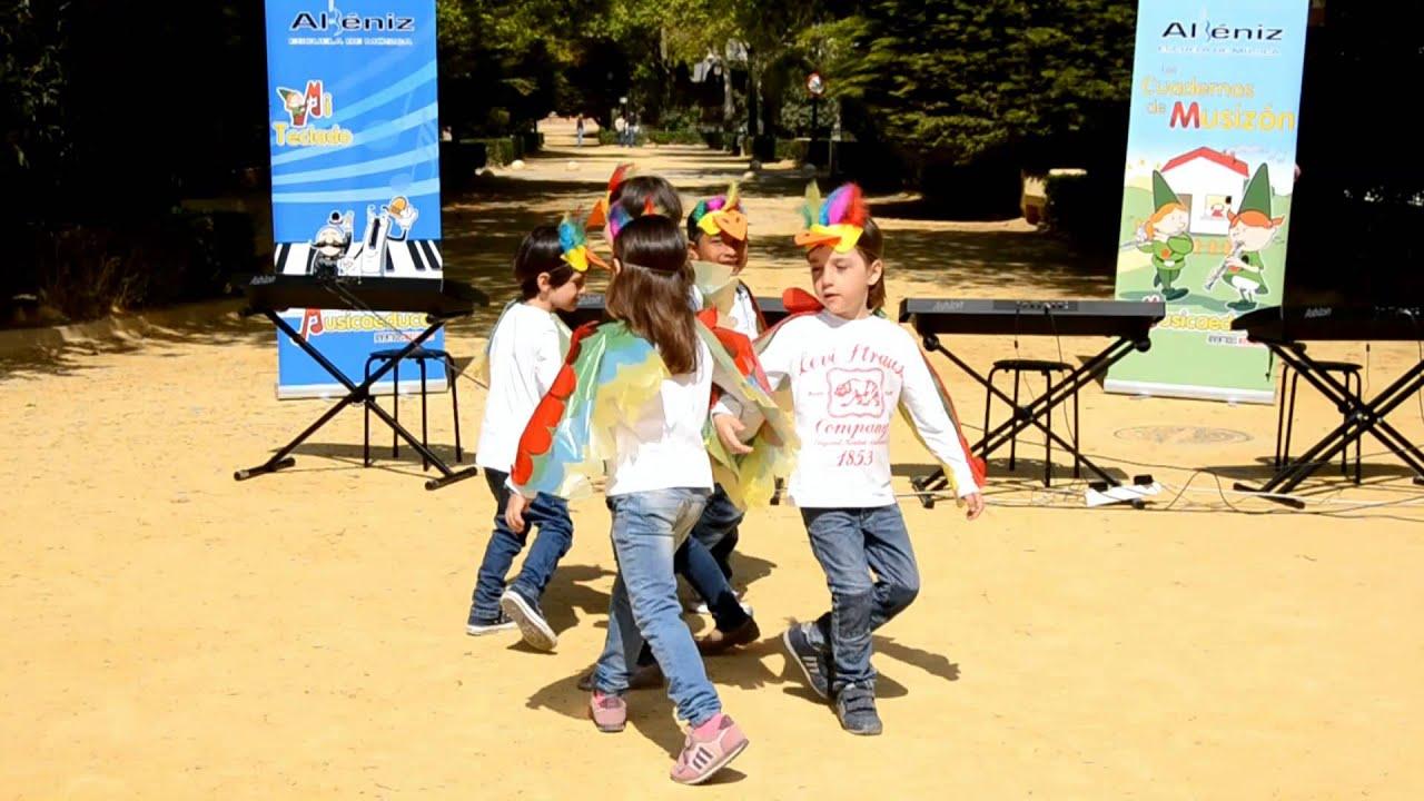 Papageno y papagena - Grupo de alumnos de Mi Teclado 1 - Escuela de Música Albéniz