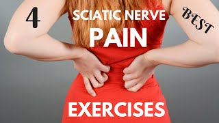 4 Best Sciatic Nerve Pain Exercises - How to Relieve Sciatic Nerve Pain in 7 Days