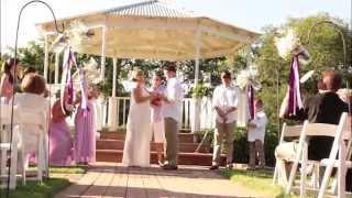 Alissa & Dave Lavender Wedding