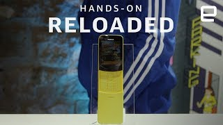 Nokia 8110 4G Reloaded Hands-On at MWC 2018