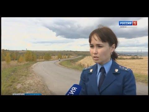 Жалоба в прокуратуру – жители села Красногорка добились ремонта дороги - Вести Марий Эл