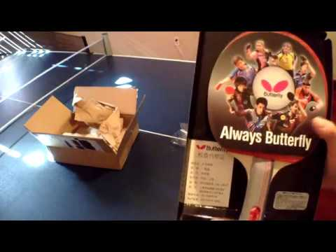 Unboxing Butterfly 401 FL Paddle
